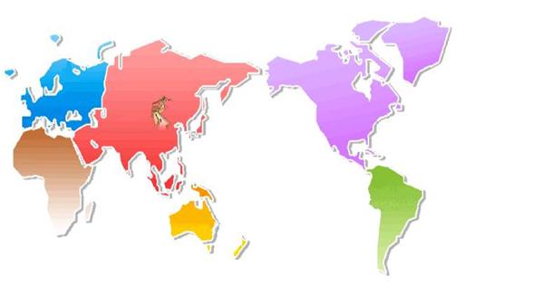 手绘地图banner